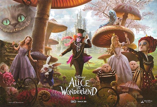 Movie Review Rewind Alice In Wonderland 2010 Sobros Network